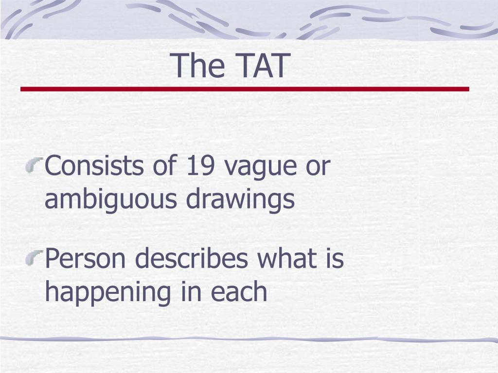 The TAT