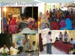 gospel meetings