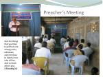 preacher s meeting