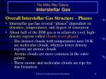 the milky way galaxy interstellar gas18