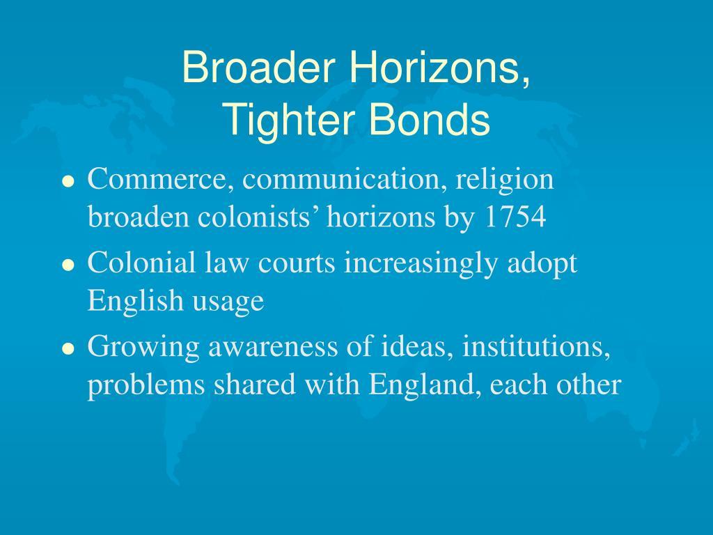 Broader Horizons,