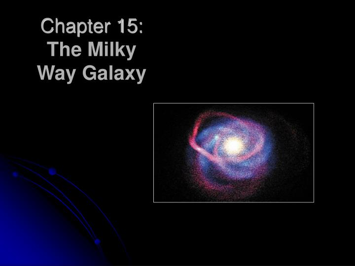 Chapter 15 the milky way galaxy