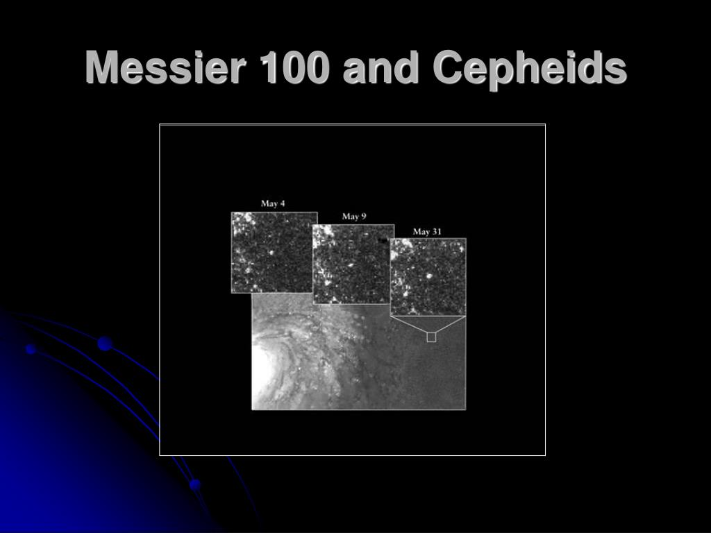 Messier 100 and Cepheids