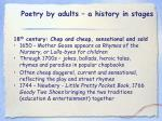 poetry by adults a history in stages14