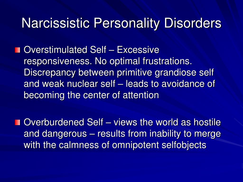 theories to explain narcissistic personality disorder How is malignant narcissism different from simple narcissism or narcissistic personality disorder this article is an attempt to define these three terms includes examples and video illustration.
