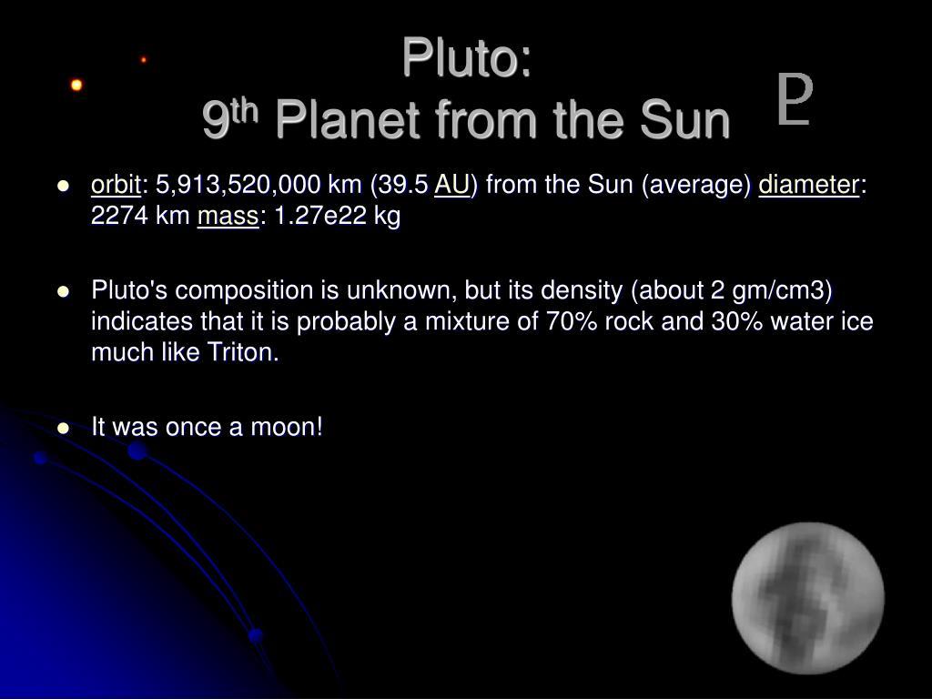 Pluto: