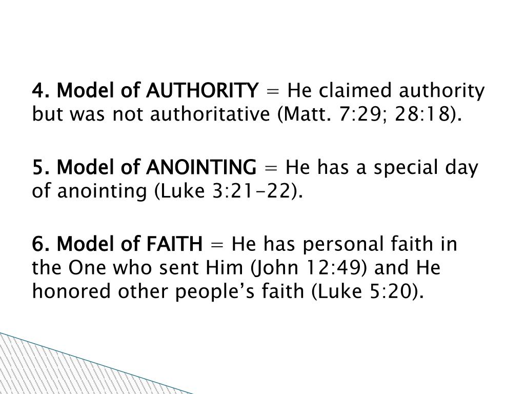 4. Model of AUTHORITY