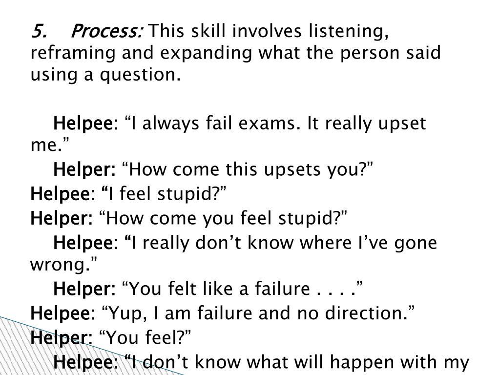 5.    Process: