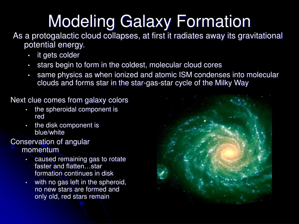 As a protogalactic cloud collapses, at first it radiates away its gravitational potential energy.