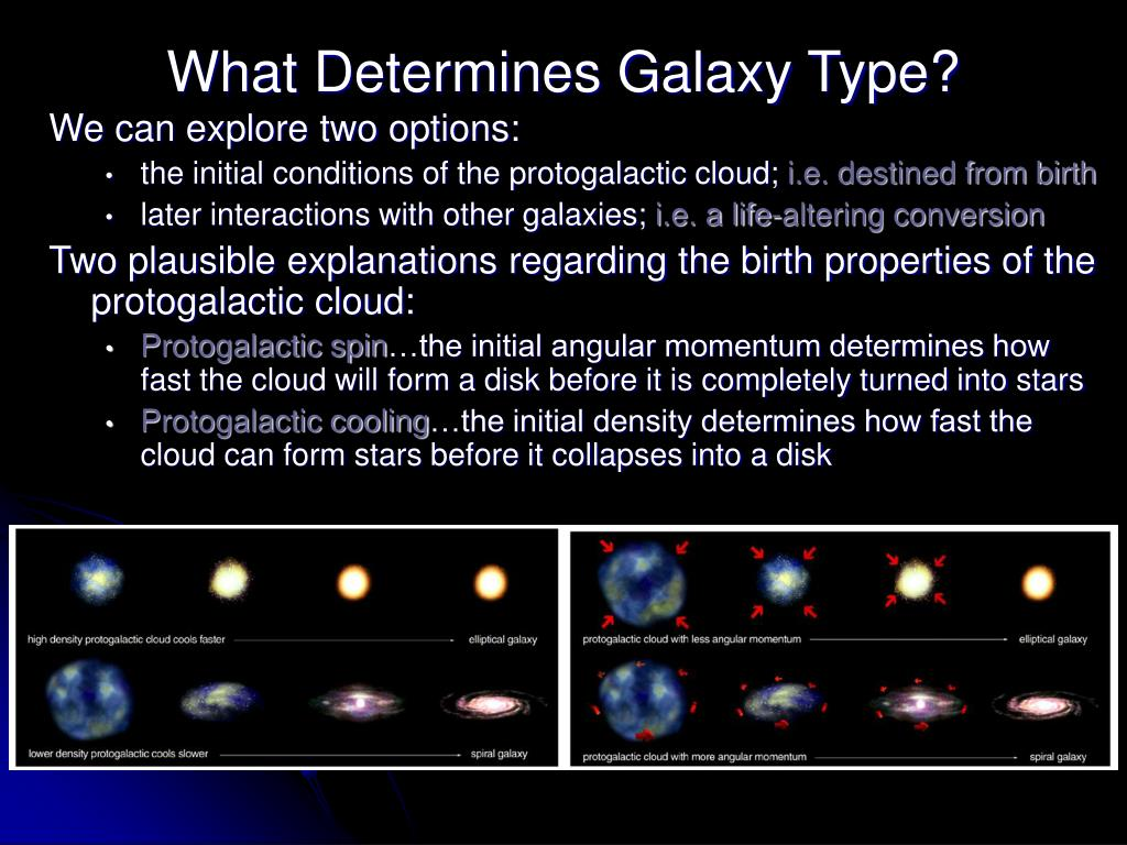 What Determines Galaxy Type?
