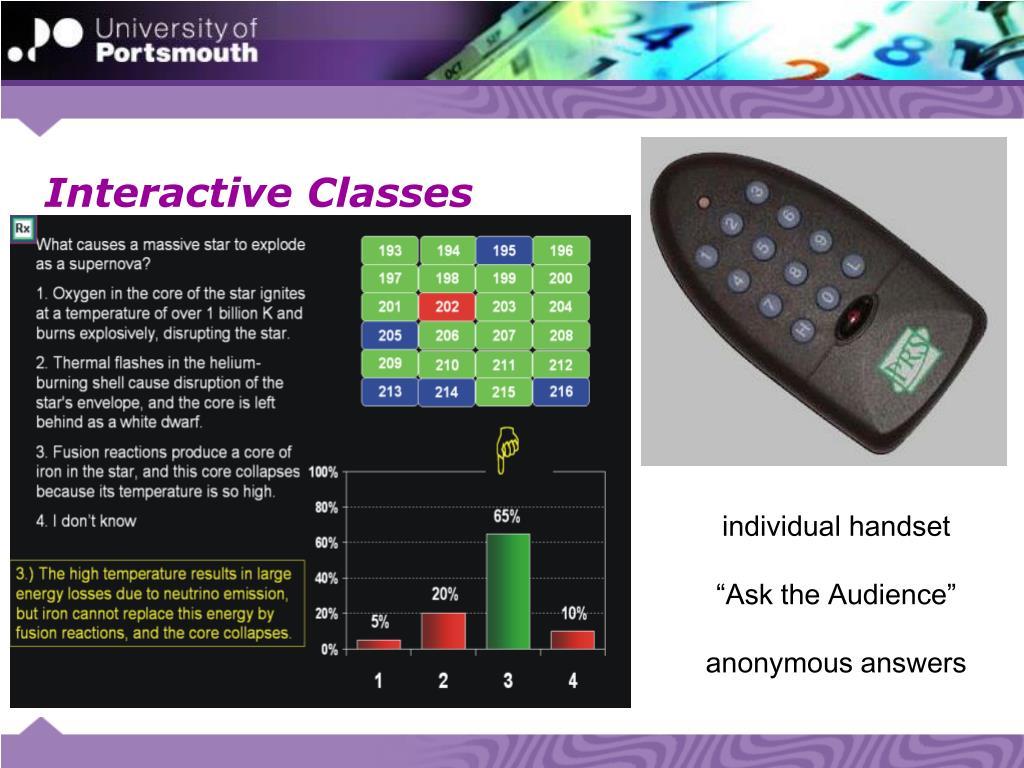 Interactive Classes