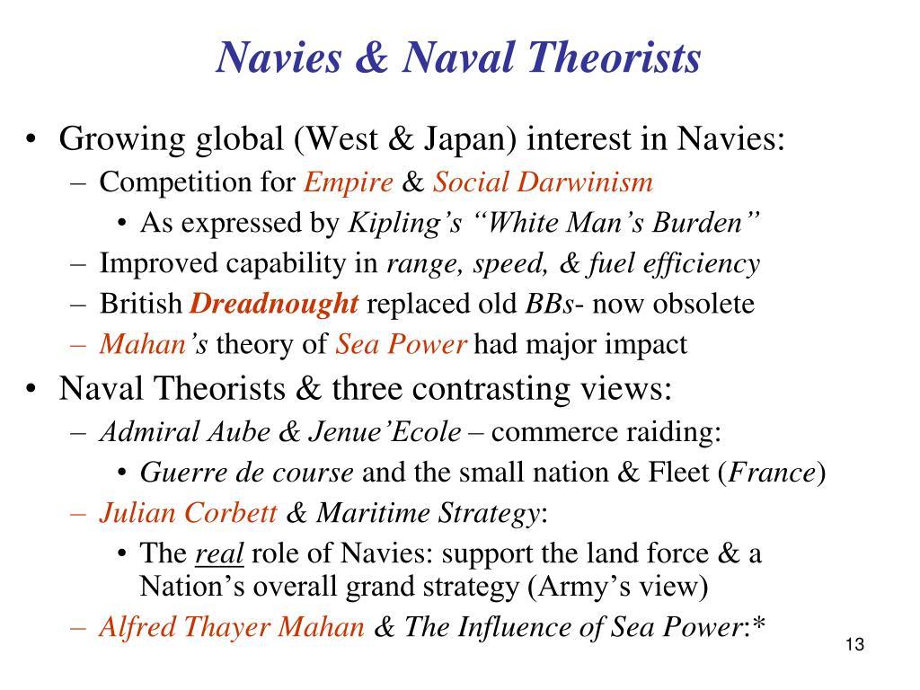 Navies & Naval Theorists