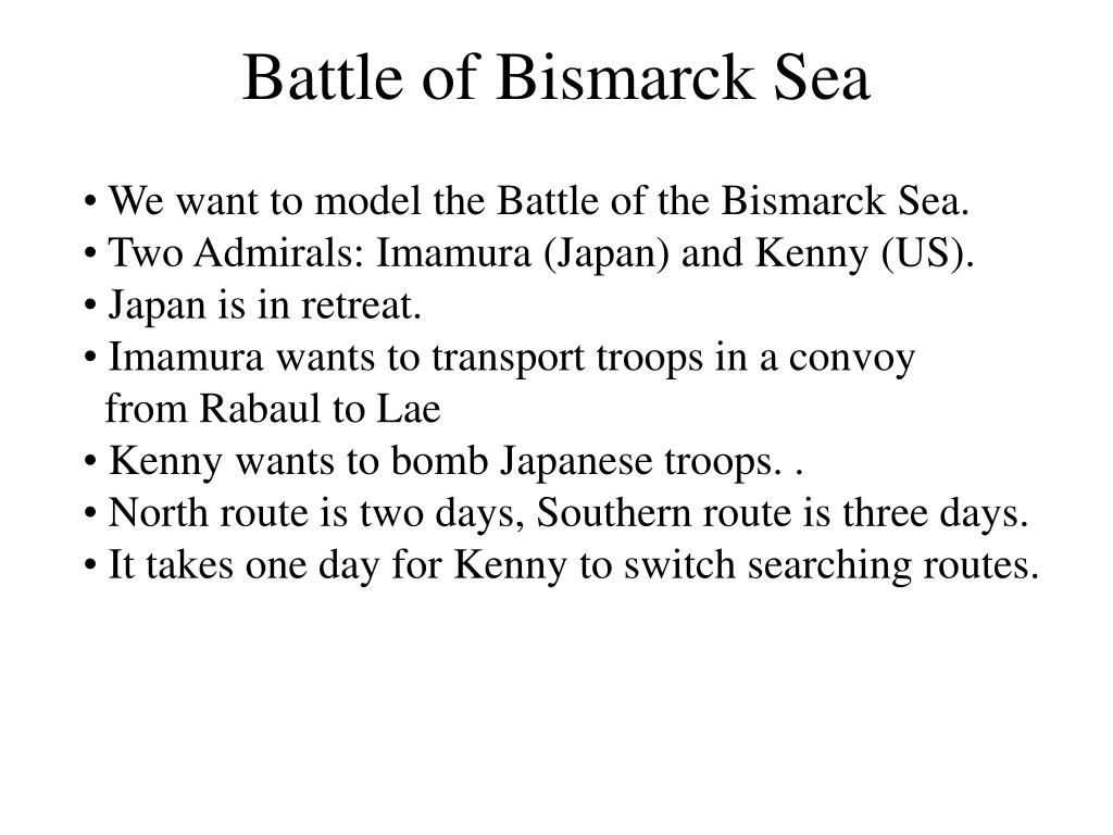 Battle of Bismarck Sea