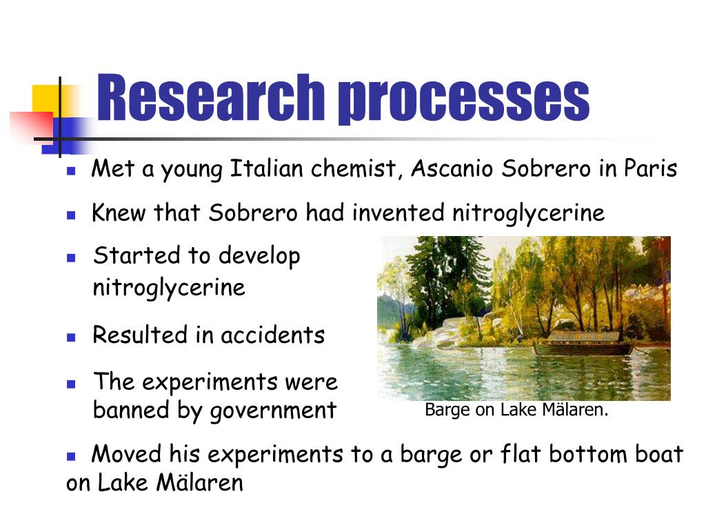 Research processes