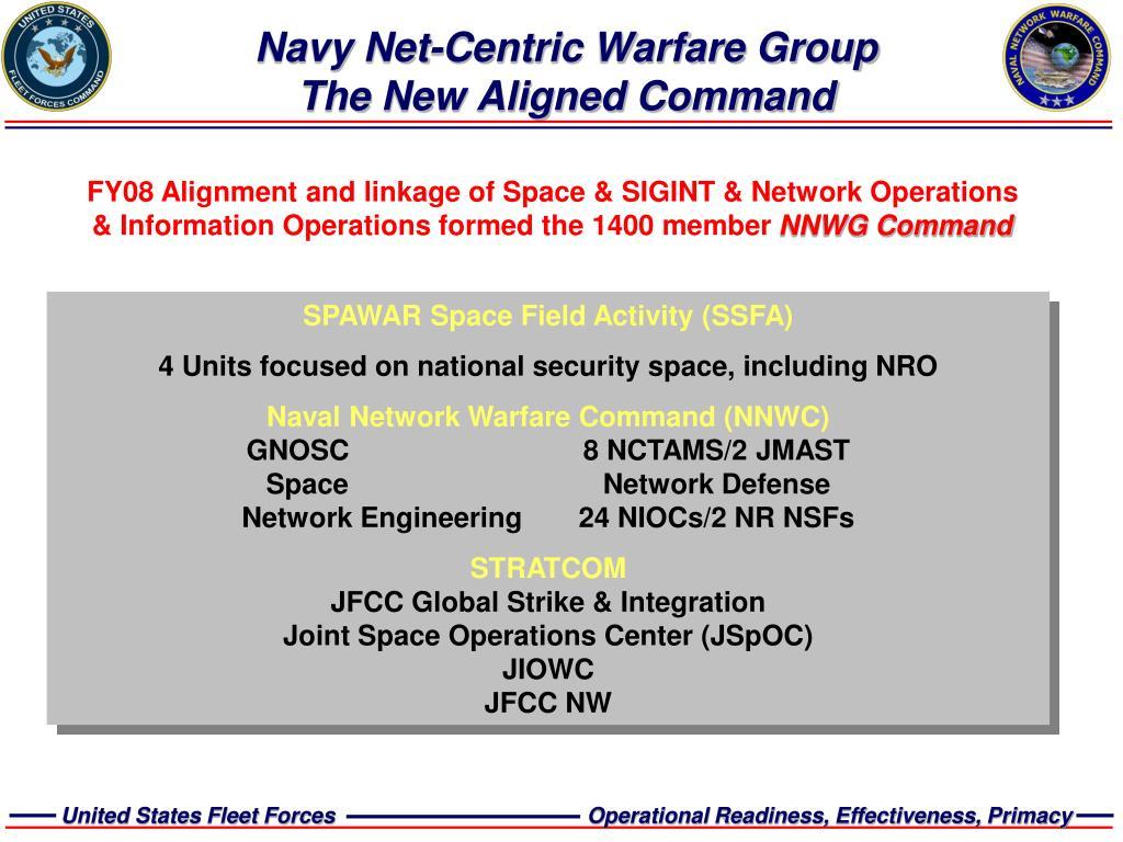 Navy Net-Centric Warfare Group