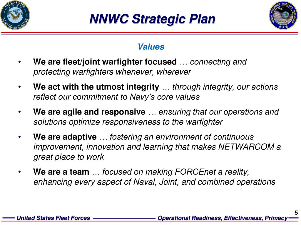 NNWC Strategic Plan