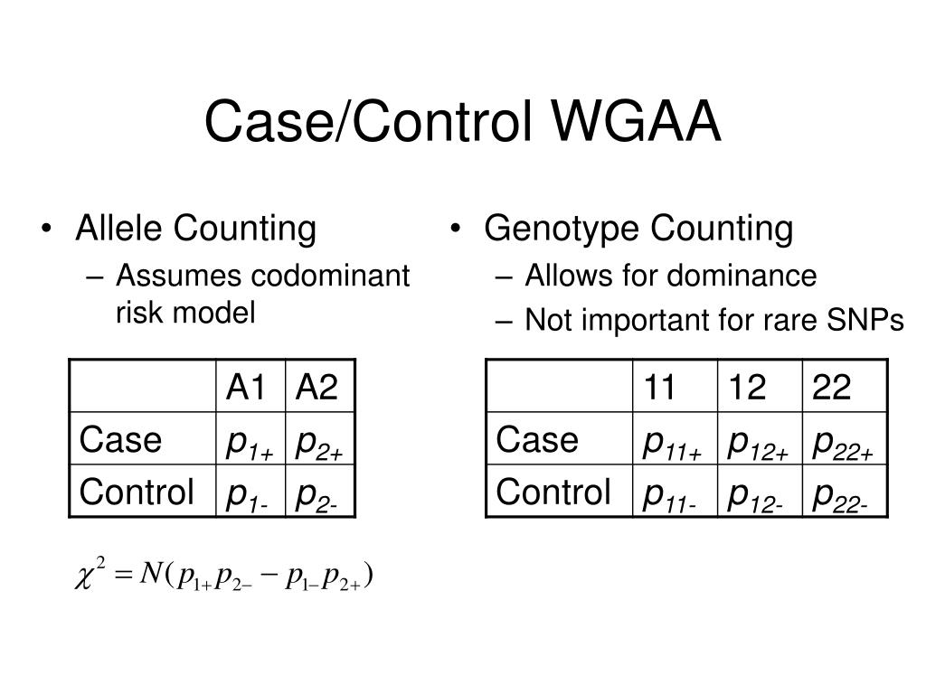 Allele Counting