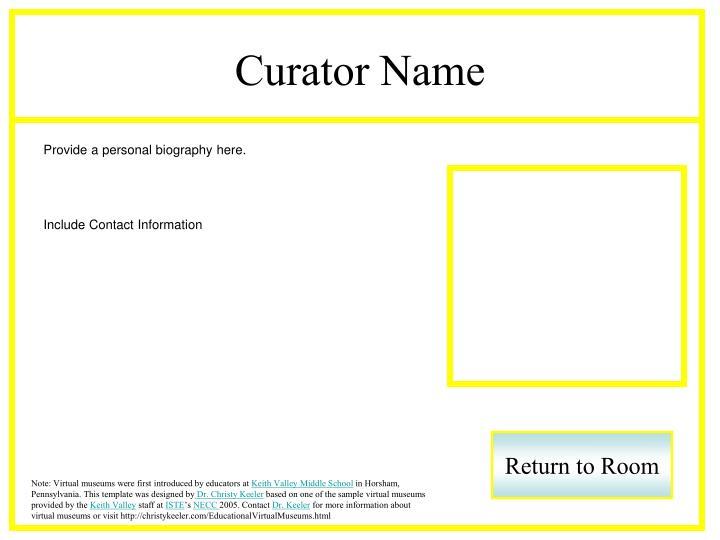 Curator Name