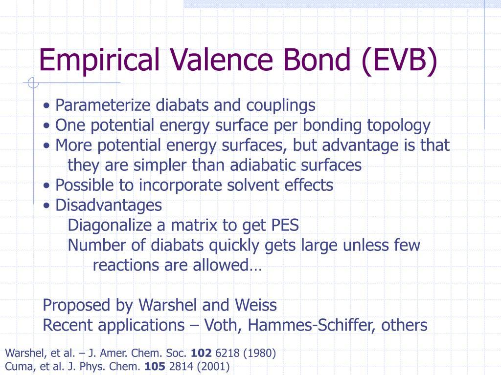 Empirical Valence Bond (EVB)