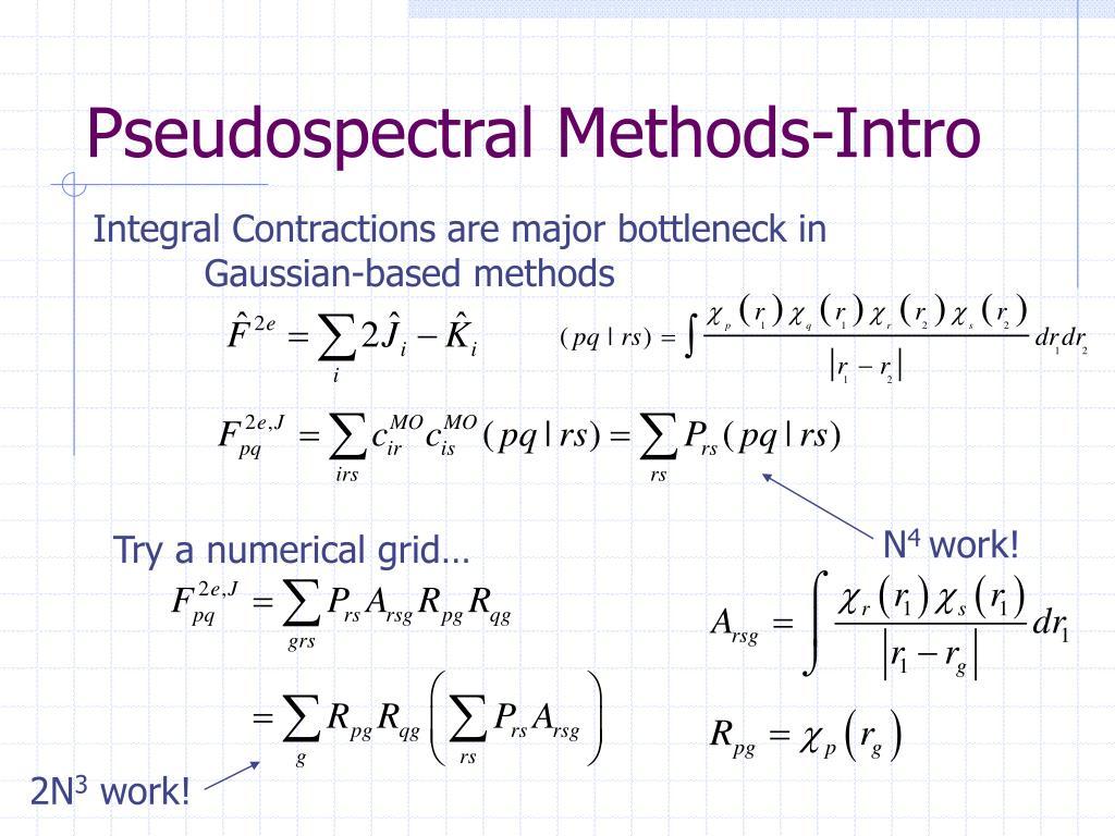Pseudospectral Methods-Intro