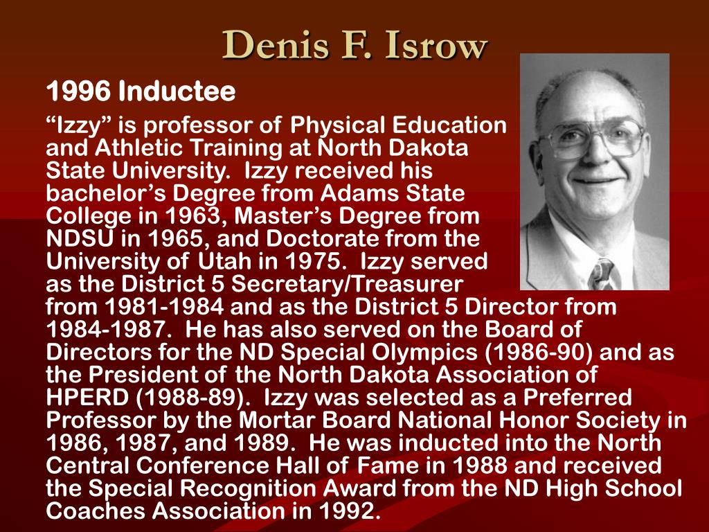 Denis F. Isrow