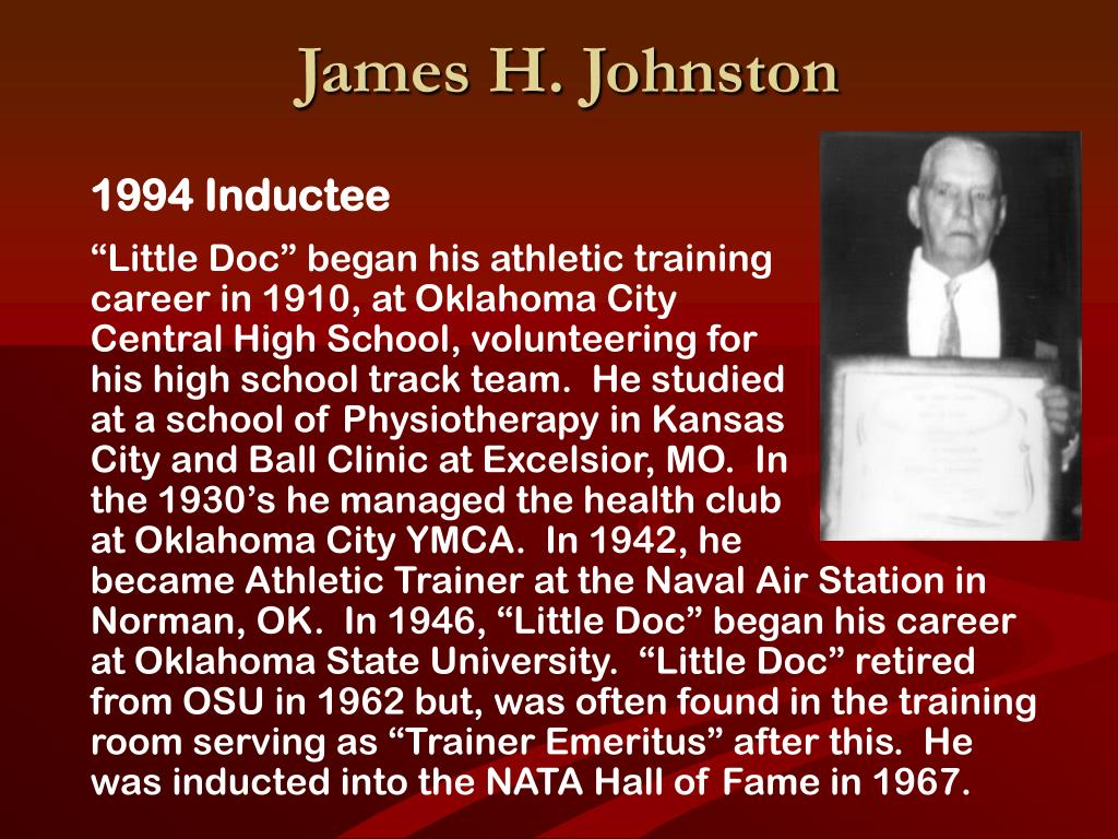 James H. Johnston