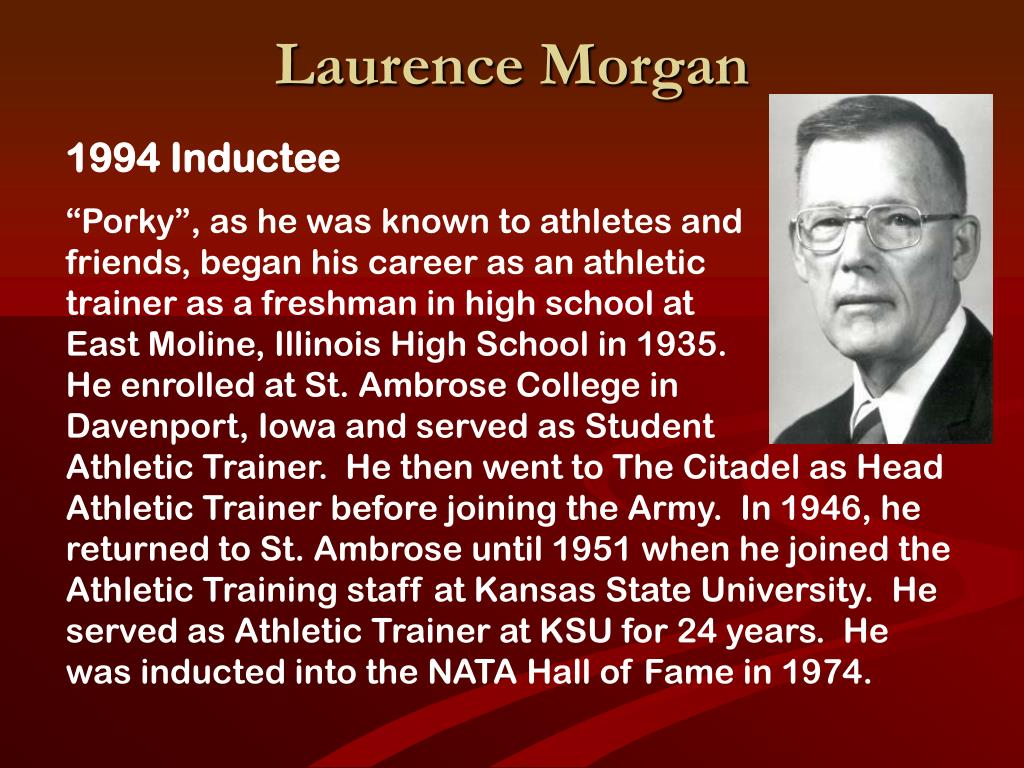 Laurence Morgan