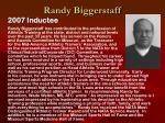 randy biggerstaff
