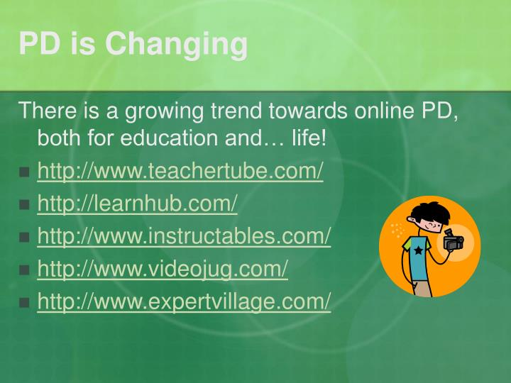 Pd is changing