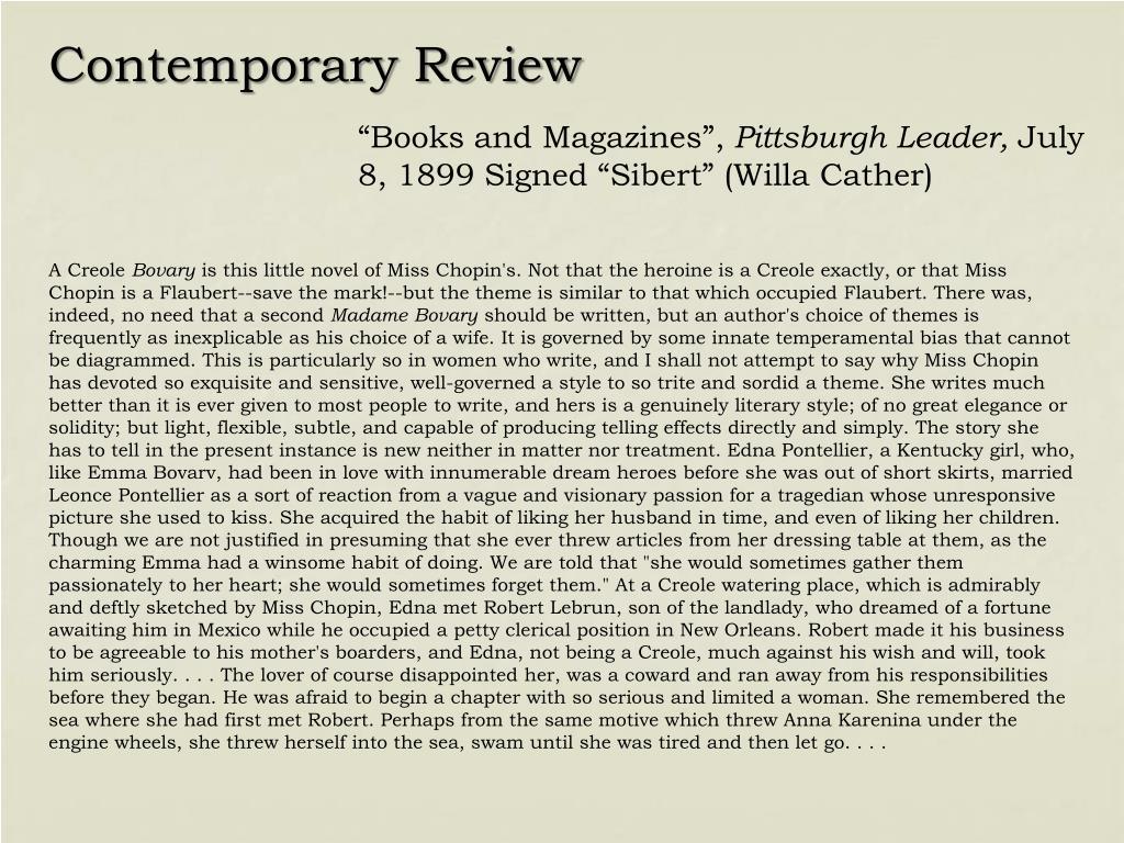 Contemporary Review