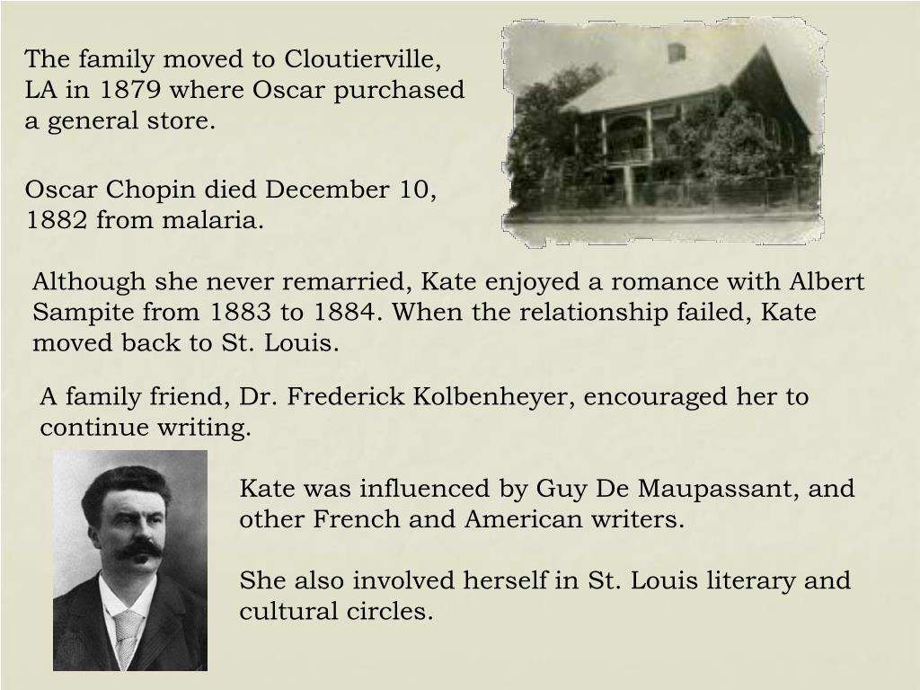 The family moved to Cloutierville, LA in 1879 where Oscar purchased a general store.