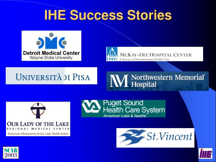IHE Success Stories