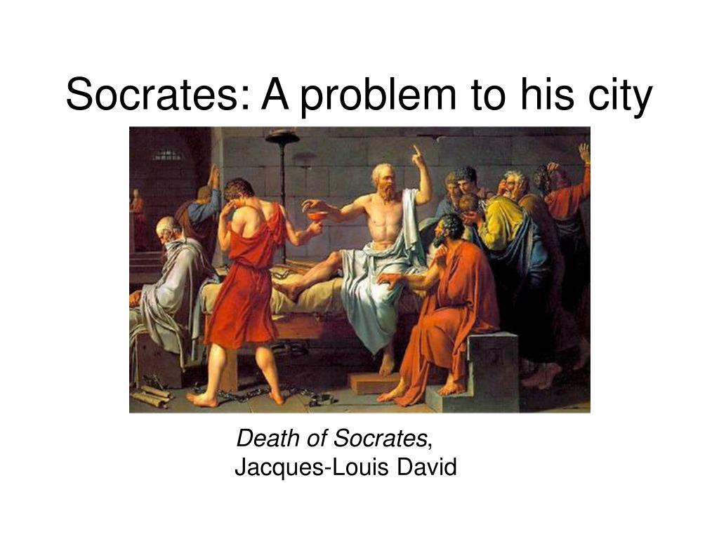 Socrates: A problem to his city