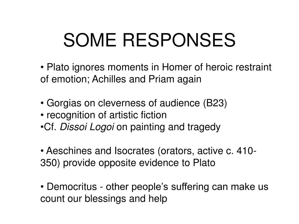 SOME RESPONSES
