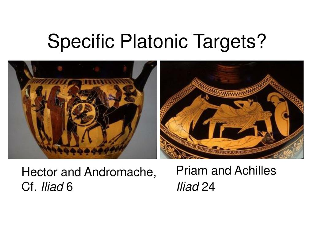 Specific Platonic Targets?