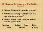 ii character development in the outsiders continued23