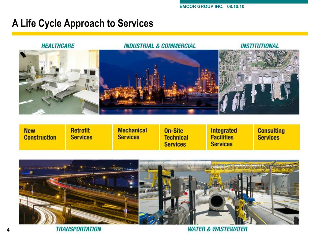A Life Cycle Approach to Services