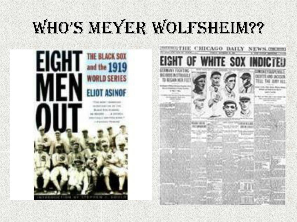 Who's Meyer Wolfsheim??