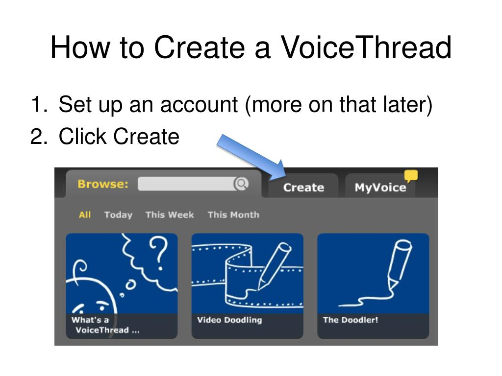 How to Create a VoiceThread