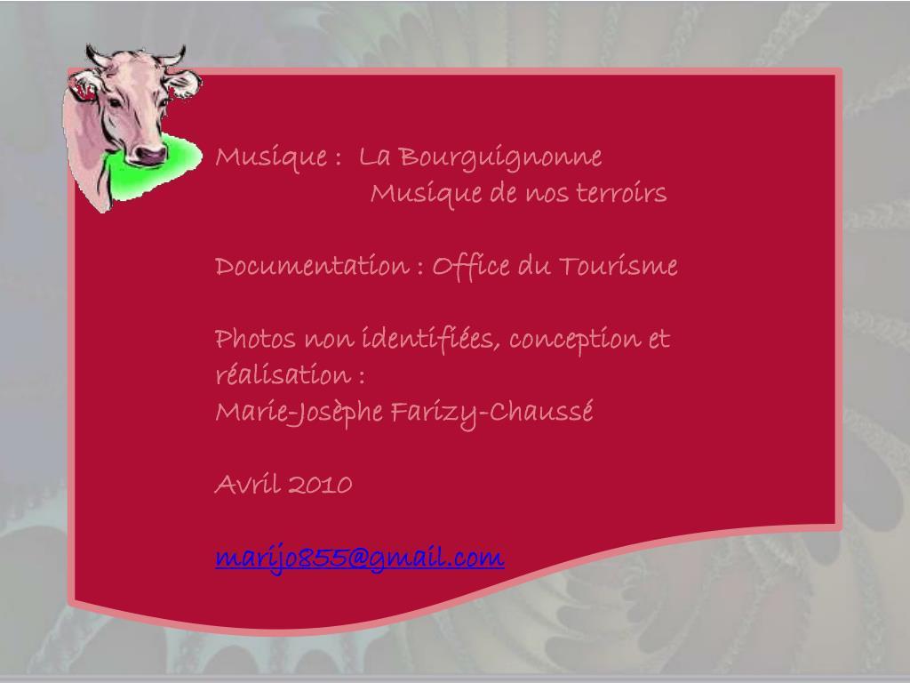Musique :  La Bourguignonne