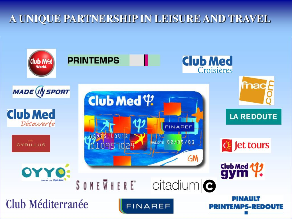 A UNIQUE PARTNERSHIP IN LEISURE AND TRAVEL