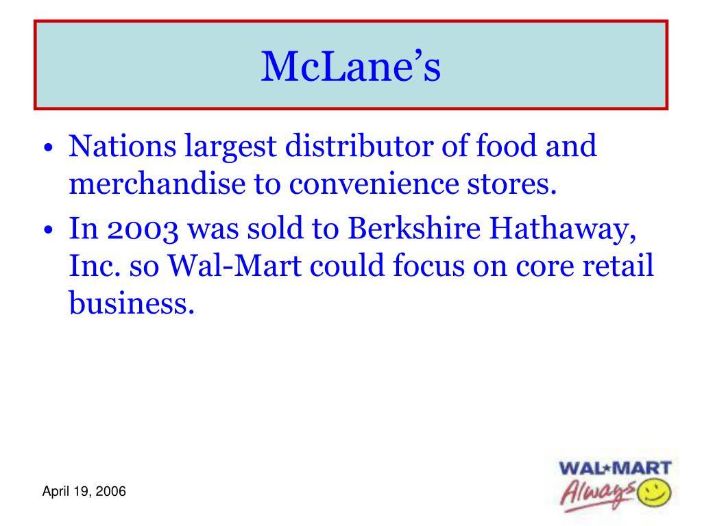 McLane's