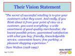their vision statement