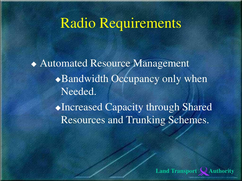 Automated Resource Management
