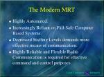 the modern mrt