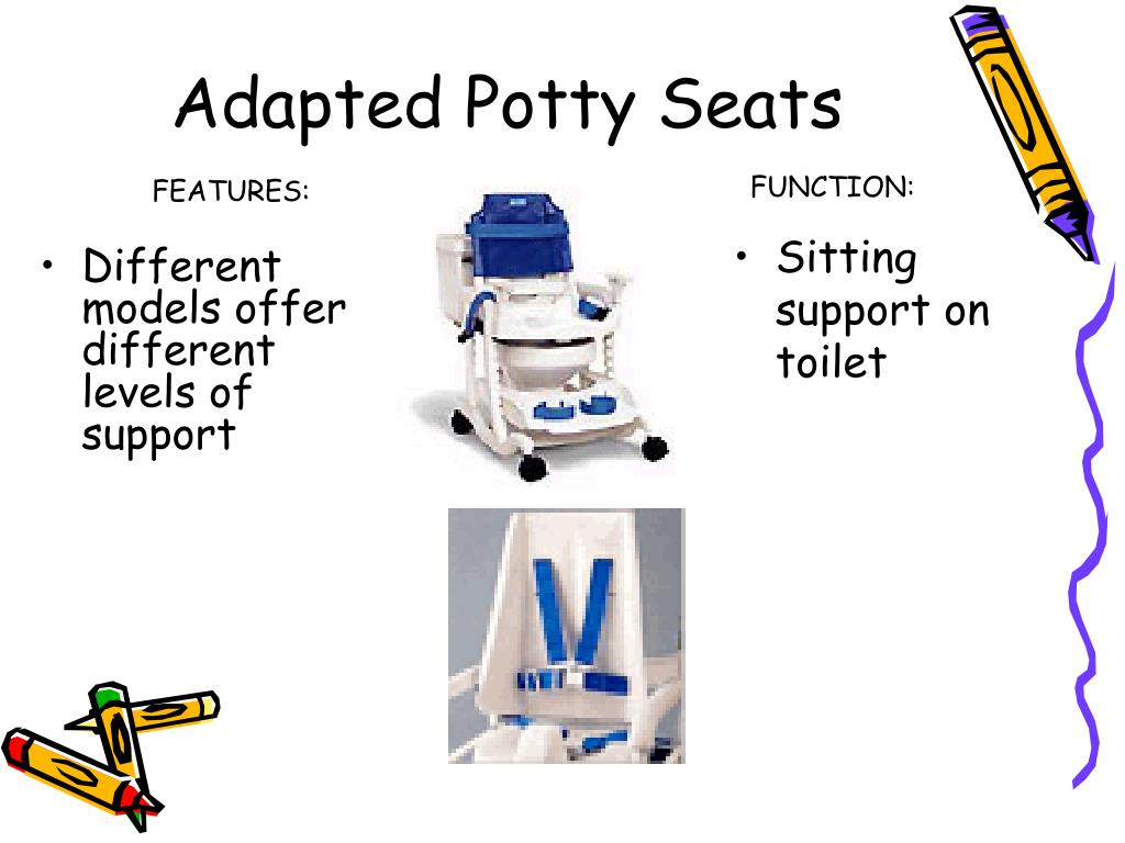 Adapted Potty Seats