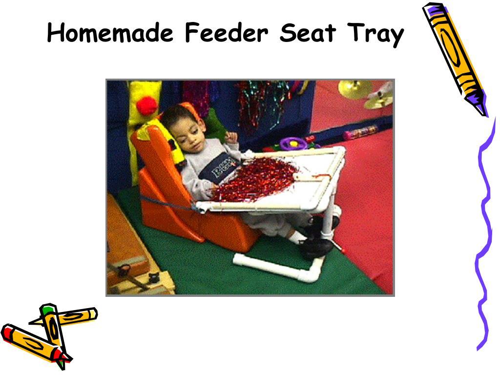 Homemade Feeder Seat Tray