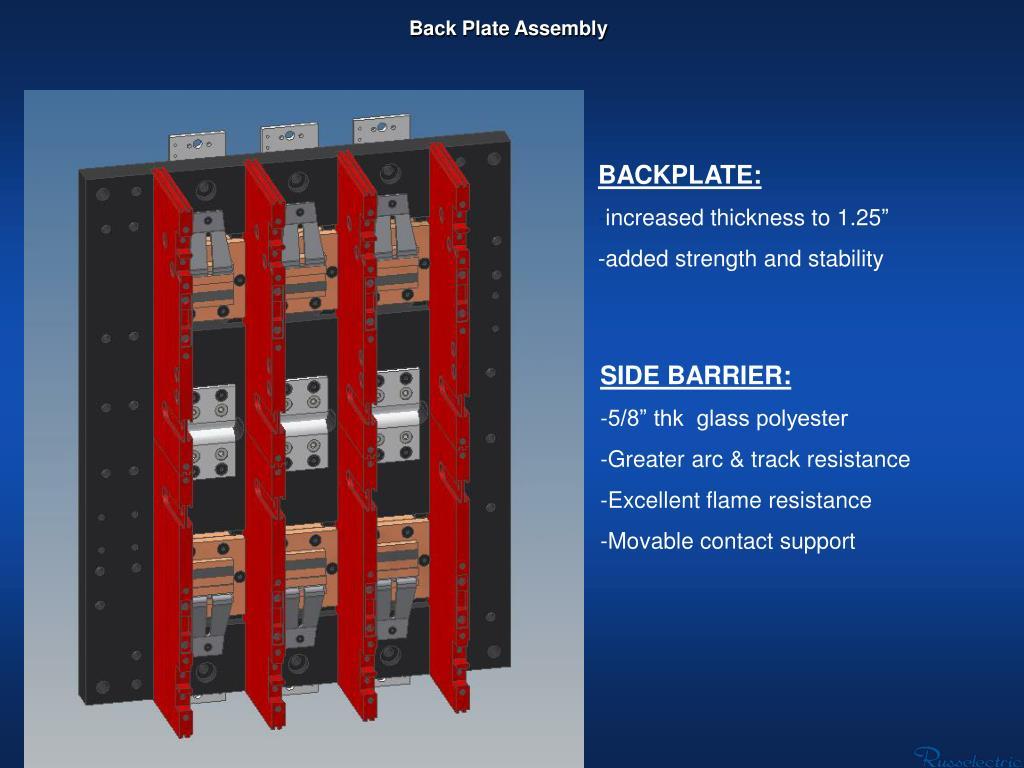 Back Plate Assembly