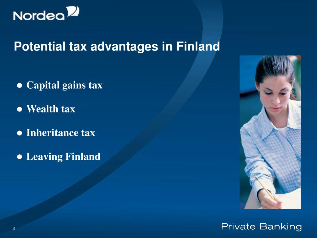 Potential tax advantages in F