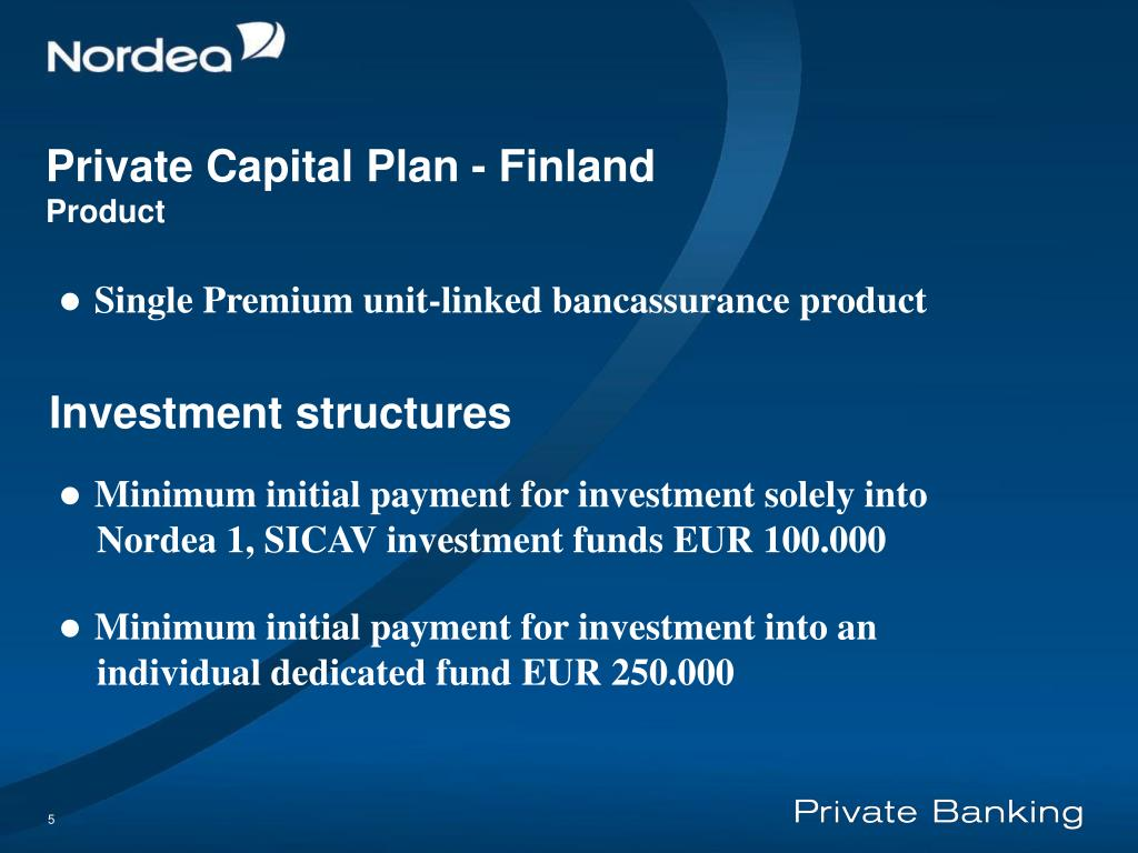 Private Capital Plan - F
